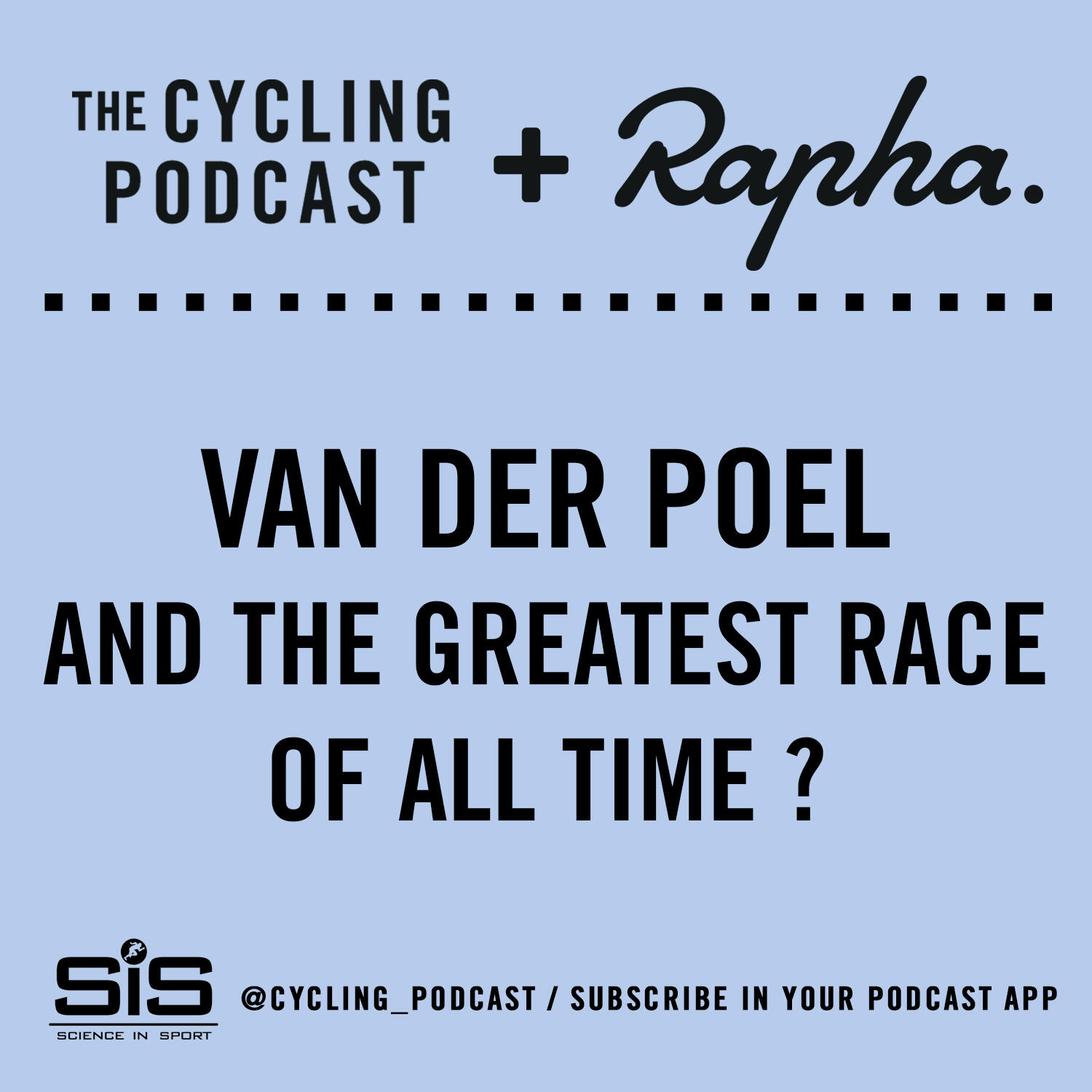 27: Van der Poel and the greatest race of all time?