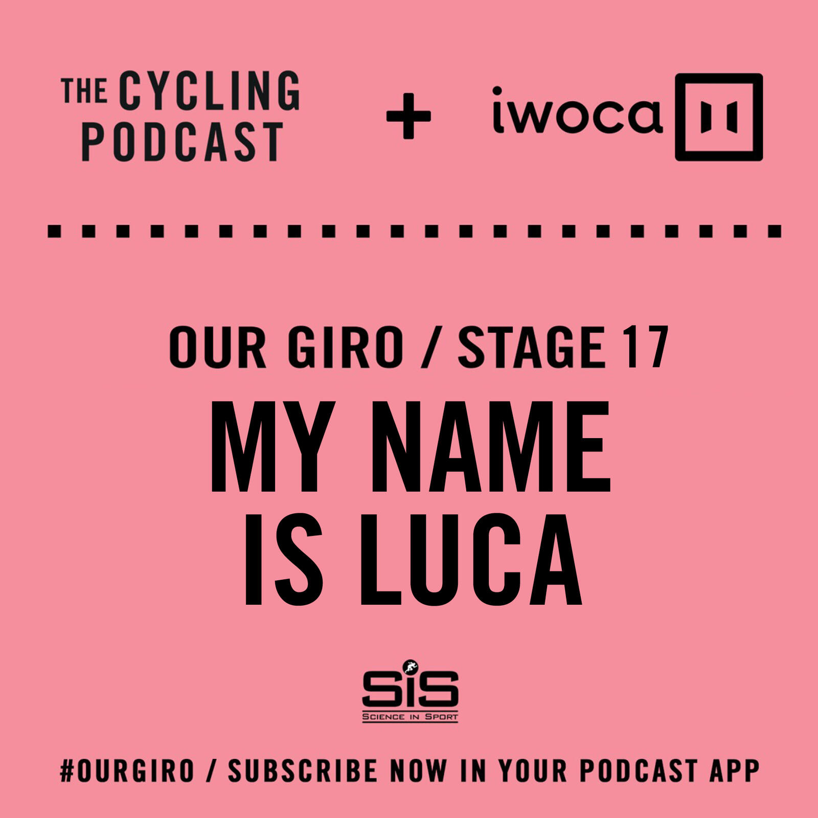 65: Our Giro stage 17: My name is Luca