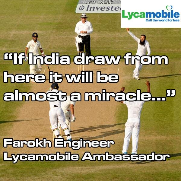Lycamobile with Indian Cricket legend Farokh Engineer