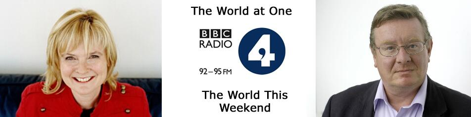 The World at One / The World This Weekend
