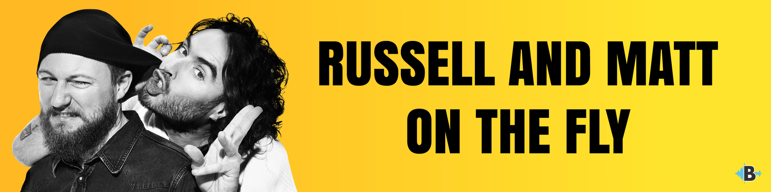 Russell Brand on the Fly