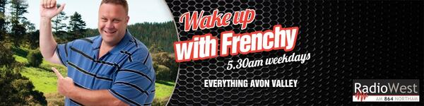 Wake up with Frenchy