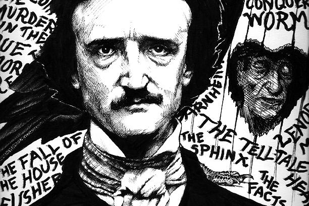 edgar allan poe writing style Poe lived in the allan home in richmond, virginia, was given the name edgar allan poe, and was baptized in the episcopal church but was never legally adopted from 1815-1820 the allans lived in scotland and england, where edgar studied at boarding schools, one of which inspired the setting for his story william wilson.