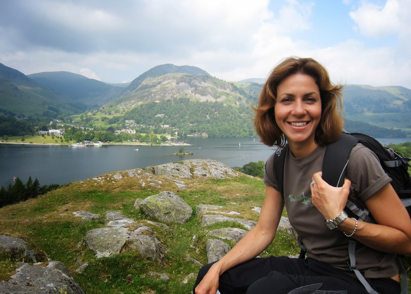 25: Wildcamping with Mark Gilligan and Julia Bradbury on family camping and walking