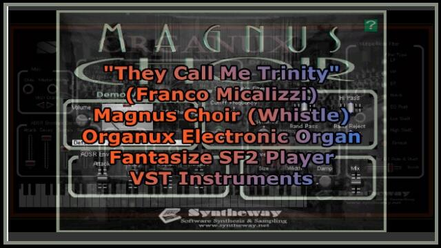 Audioboom / They Call Me Trinity (Franco Micalizzi) Syntheway Magnus