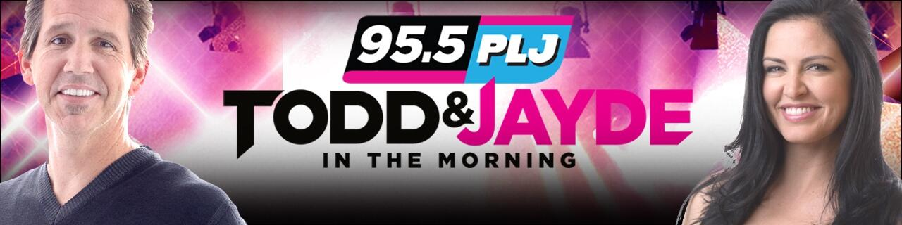 95.5 PLJ: Todd & Jayde In The Morning