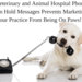 Veterinary and Animal Hospital Phone On