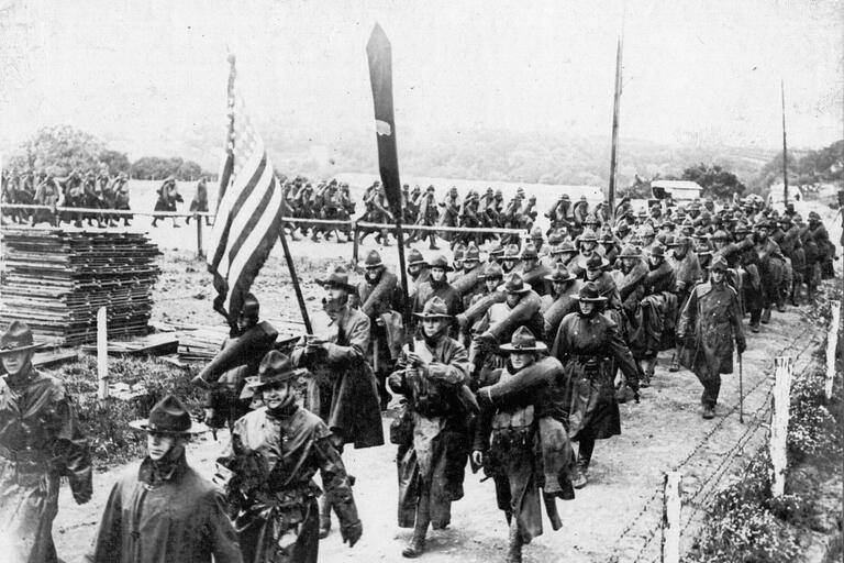 Audioboom First Over There The Attack On Cantigny Americas