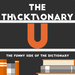 thicktionary letters U