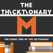 thicktionary letters M