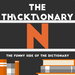 thicktionary letters N