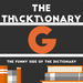 thicktionary letters G