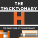 thicktionary letters H