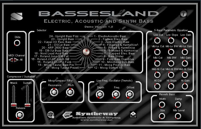 audioboom bassesland virtual bass electric acoustic and synthesizer bass vst plugin by. Black Bedroom Furniture Sets. Home Design Ideas