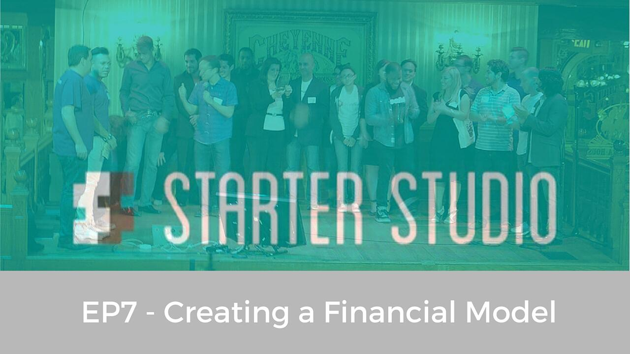 EP7 - Creating a Financial Model