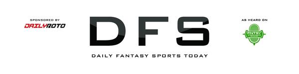 123fef8af58 FNTSY Sports Network. Podcasts · Episodes · DFS Today sponsored by  DailyRoto.com