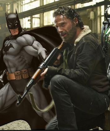Audioboom / SO Wrong Fan Fiction: R2Queef2 & Rick Grimes and Batman