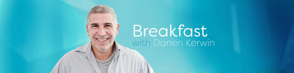 Breakfast with Darren Kerwin