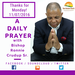 A Daily Prayer with Bishop Crudup Thanks for Monday 11 07 2016