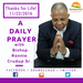A Daily Prayer with Bishop Crudup -Thanks for Life - 11222016