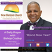 Monday January 2 2017- A Daily Prayer with Bishop Ronnie C. Crudup- -Brand New Year -