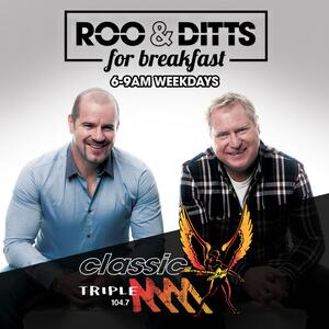 Roo and Ditts For Breakfast