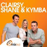 Clairsy, Shane and Kymba