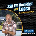 3SR FM Breakfast With Locco
