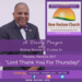 Thursday March 16 2017 A Daily Prayer with Bishop Crudup -Lord Thank You For Thursday -