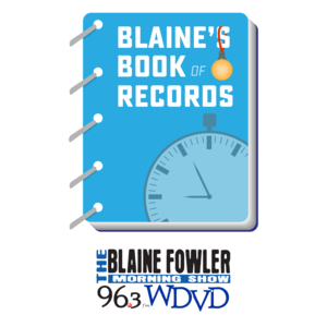 Blaine's Book Of Records