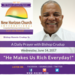 Wednesday June 14 2017 A Daily Prayer with Bishop Crudup -He Makes Us Rich Everyday -
