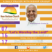 Sunday July 16 2017 A Daily Prayer with Bishop Crudup -Let s Worship the Lord -
