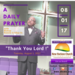 Tuesday August 1 2017 A Daily Prayer with Bishop Crudup Thank You Lord