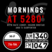 Mornings at 5280 wTJ 1400 x 1400