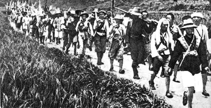 a history of the long march of the red army of china This article is an itinerary the long march (长征) was a retreat by communist forces from kuomintang (nationalist) armies in 1934 and 1935, and is considered a strategic feat that directly led to the foundation of today's people's republic of china.