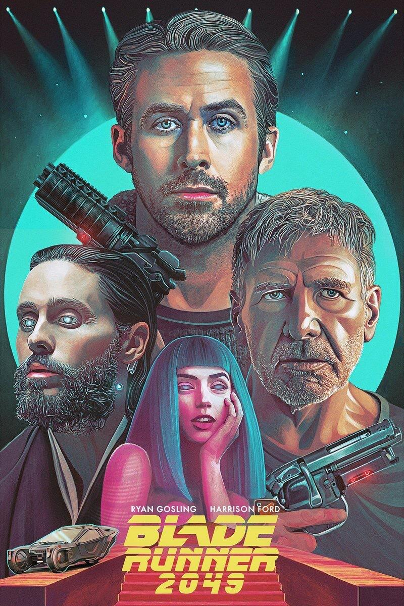 Ep 232 Blade Runner 2049 Review - Upodcasting- Under Promise Over Deliver