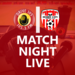 Drive105 Match Night Live