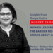Roopa N8 WOMEN LEADERSHIP - THE BARRIER THAT DOESN T GET SPOKEN ABOUT