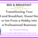 Audioboom Cover - Transitioning from a hobby to a professional business