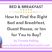Copy of What s the best online travel agent to list your bed and breakfast business with