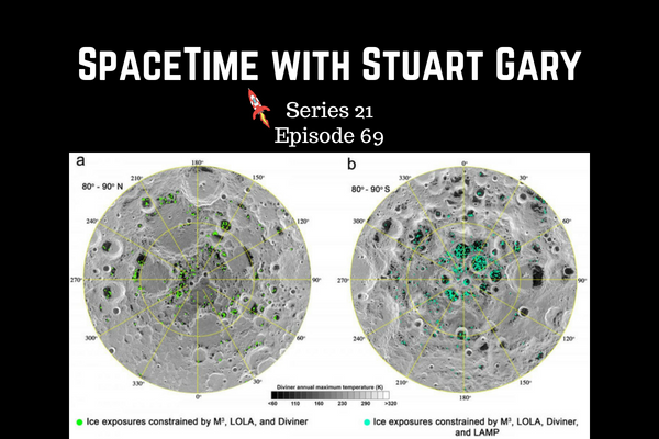 69: Water confirmed on the Lunar surface - SpaceTime with Stuart Gary Series 21 Episode 69