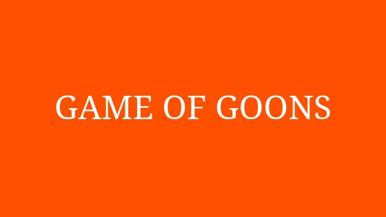 Game of Goons