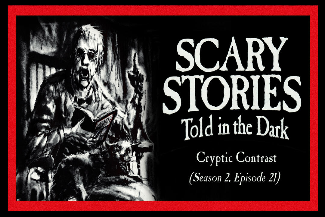 "21: S2E21 - ""Cryptic Contrast"" – Scary Stories Told in the Dark"