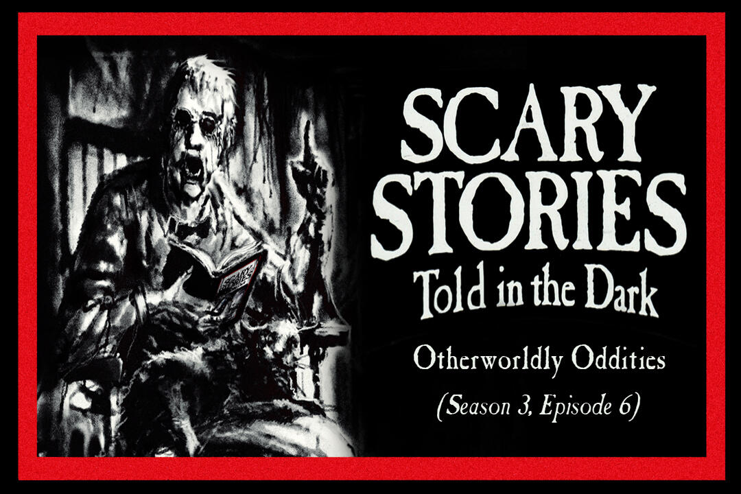"""6: S3E06 - """"Otherworldly Oddities"""" – Scary Stories Told in the Dark"""