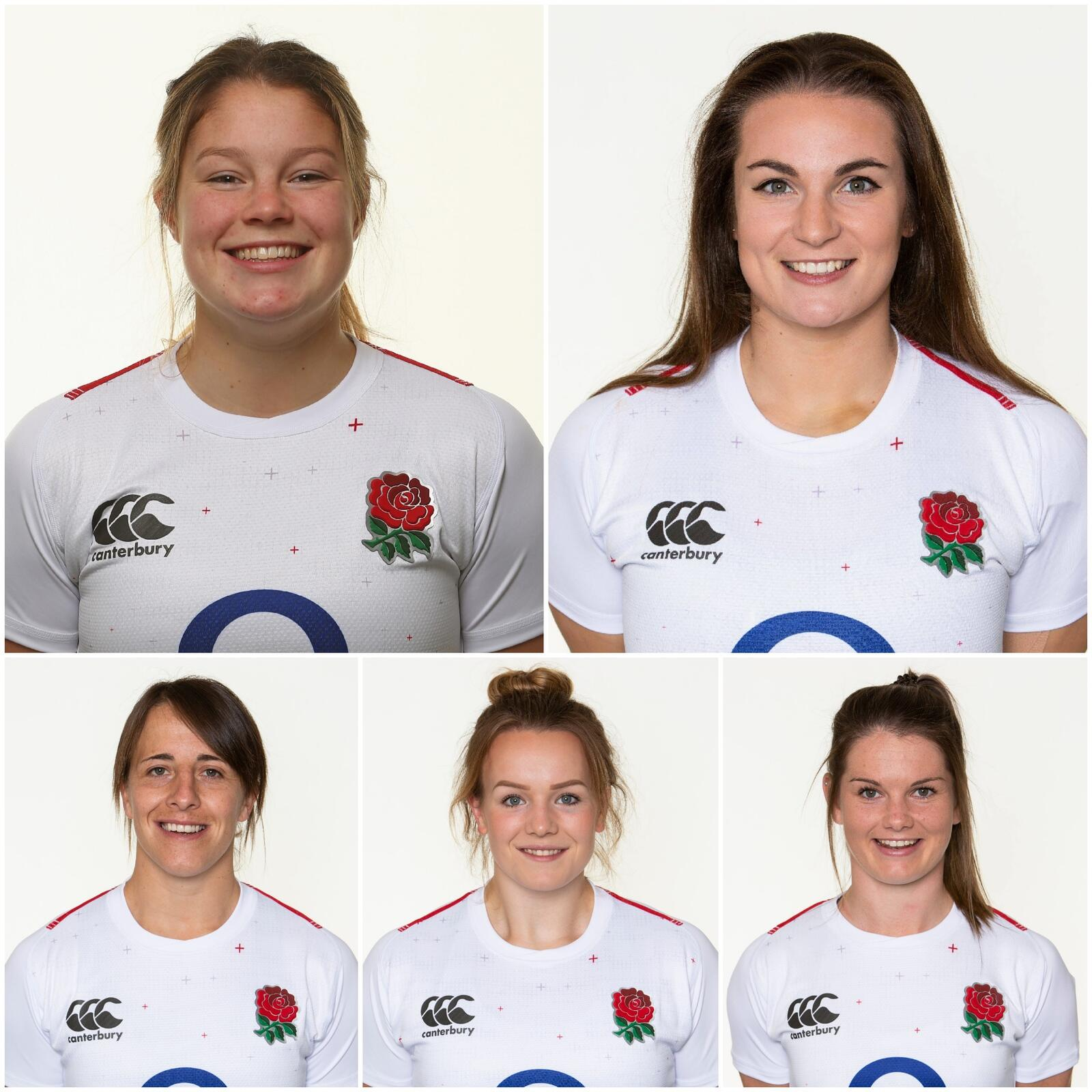 Six Nations Special: Jess Breach, Leanne Riley, Lark Davies, Jo Brown and Katy Daley-McLean