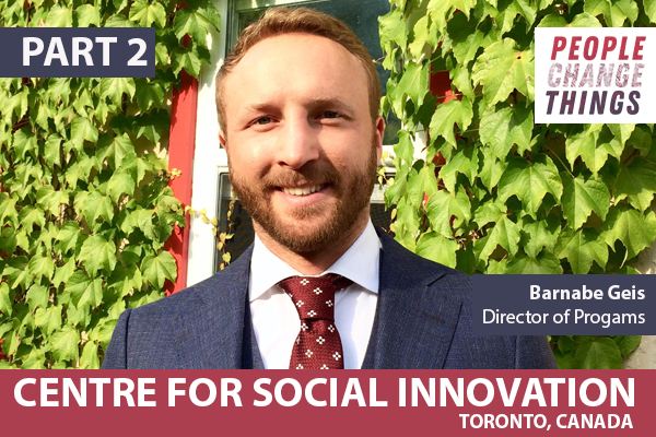 11: Centre for Social Innovation - Part 2