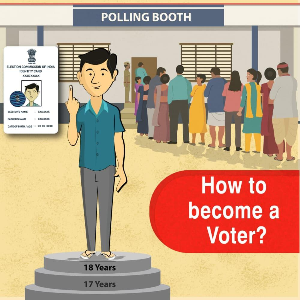 How to become a voter?
