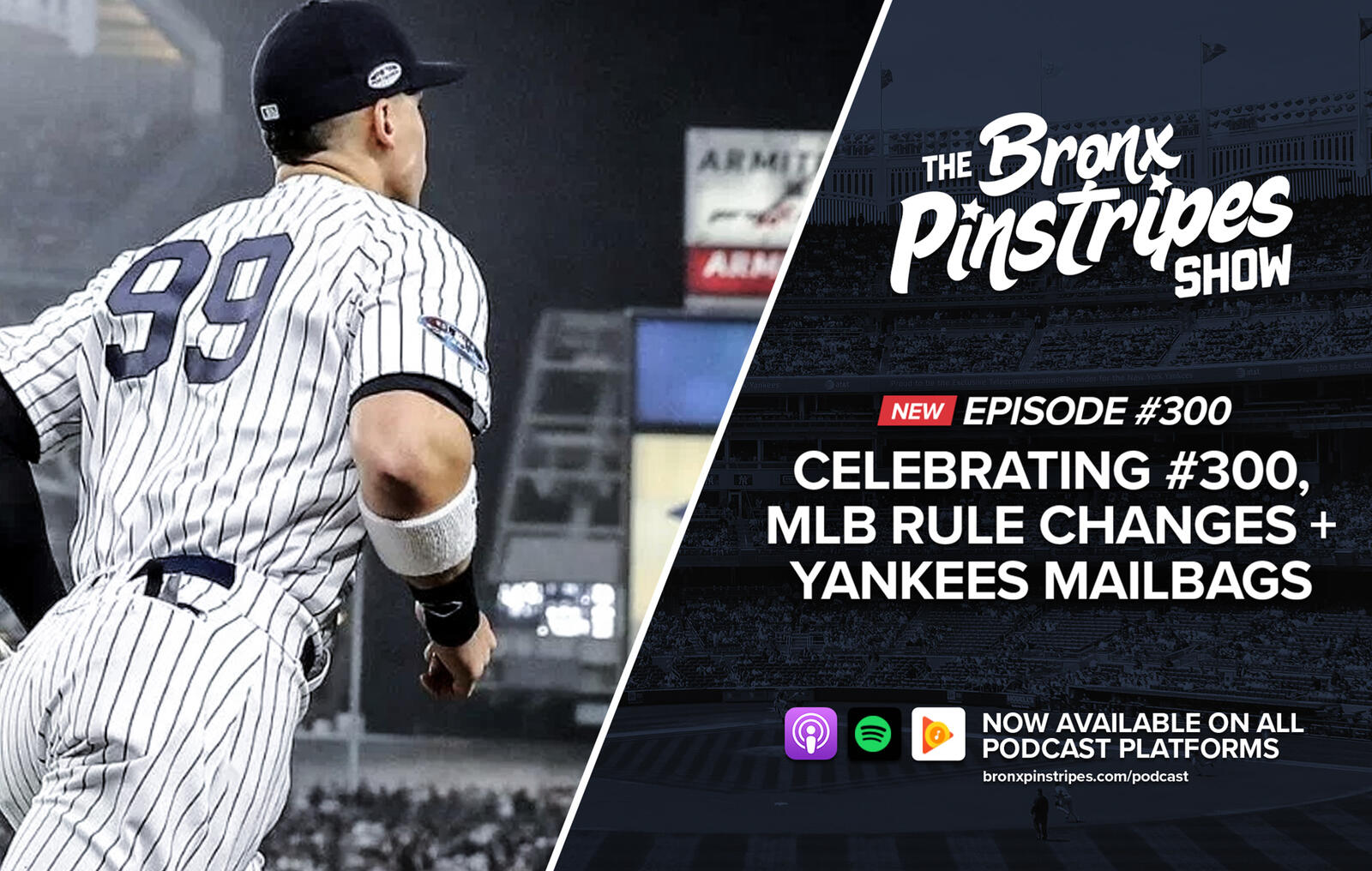 ac48c192602 The Bronx Pinstripes Show - Yankees MLB Podcast (unofficial) → Podbay