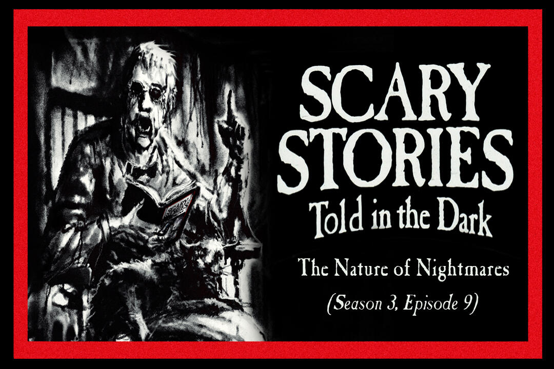 "9: S3E09 - ""The Nature of Nightmares"" – Scary Stories Told in the Dark"