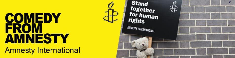 Amnesty's Comedy Podcasts